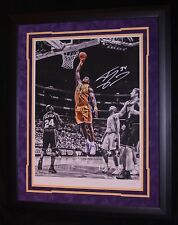 SHAQUILLE O'NEAL MATTED AND FRAMED AUTOGRAPHED PHOTO 1/250 STEINER AUTHENTICATED