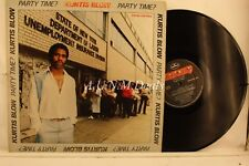 "Kurtis Blow - Party Time, Record 12"" G"