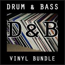Drum & Bass Bargain Bundle 10 x Vinyl Records Playaz V Bingo Viper DOA JOB LOT