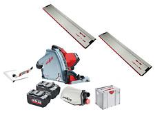 Mafell MT55 18M bl 18V Cordless Plunge Cut Saw + F80 Rail + F160 Rail