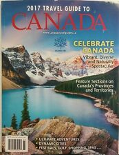 2017 Travel Guide To Canada Ultimate Adventures Dynamic Cities FREE SHIPPING sb