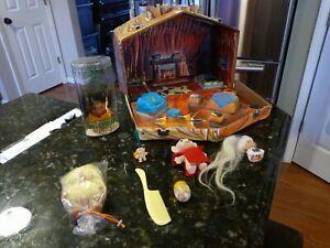 Vintage Troll Uneeda Wishnik House Case Doll 1960s Baby Ring Brooch Ornament Lot