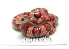 More details for little critterz miniature porcelain animal figure corn snake