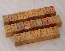 a-z Holzbuchstaben 25mm Plakatlettern Buchstaben Holzlettern Lettern aus Holz