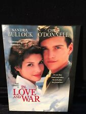 In Love and War Sandra Bullock Chris O'Donnell  (DVD, 1999) Romance