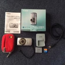 Canon PowerShot SD980IS 12.1MP Digital Camera 5X Ultra Wide Angle Optical EUC