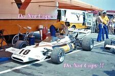 Yardley McLaren F1 Team Paddock area British Grand Prix 1972 fotografia 1