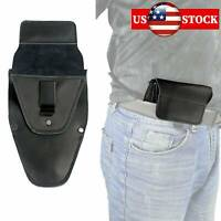 Real Leather Concealed Carry Gun Holster IWB for Small & Medium Handgun US STOCK