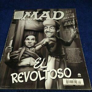 MAD EN ESPAÑOL, MAGAZINE MEXICAN EDITION, MARCH 2006 MINA, El REVOLTOSO