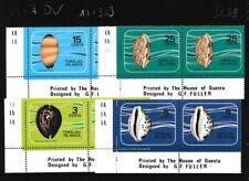 Tokelau 34-37 año 1974 completaett nuevo con goma ori (103288