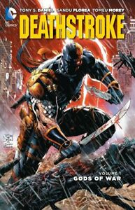 DC COMICS Deathstroke Vol 1 Gods Of War TPB Graphic Novel AS NEW 1 2 3 4 5 6