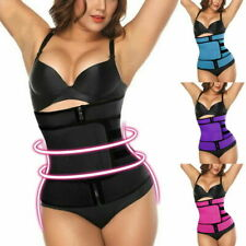 Women Waist Trainer Vest Gym Belt Sweat Sauna Adjustable Slimming Shaper Body