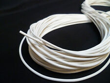Upholstery Piping Cord - 3mm - White - Soft Hollow Core Plastic - 30 Metres