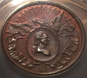 1832 Washington Birth Centennial U.S.Mint Medal -- ANACS MS-63 BROWN  #W6681