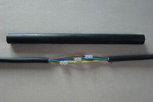 Schrumpfmuffe 3x1,5 bis 3x2,5 Reparaturset für Erdkabel mit Schraubverbinder
