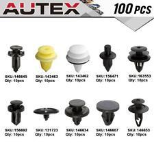 100x Clip Hinge Panel Retainer Rivet Assortment Kit For Nissan Altima 2008-2010