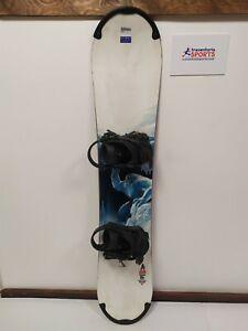LIMITED EDITION Burton Shaun White 136 cm Snowboard + Elan Bindings Size S Sport