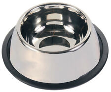 Stainless Steel Long-Ear Bowl For Spaniel Type Dog Food Or Water non-slip 2488