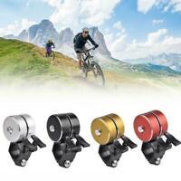 Sicherheit Radfahren Laut Fahrrad Ring 120DB Glocke Doppelklingel Horn im A X9M5