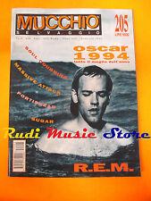 Rivista MUCCHIO SELVAGGIO 205/1995 Massive Attack R.E.M. Portishead (*) NO cd