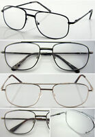L43 Double Bridge Reading Glasses / Large Frame Design / Easy To Read