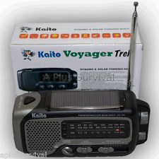 Kaito KA350 Voyager Trek Solar Crank Radio Emergency Weather NOAA Shortwave