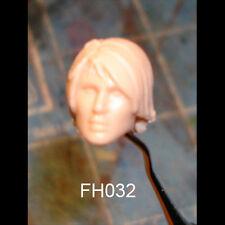 "FH032 Custom Cast Sculpt part Female head cast for use with 3.75"" action figures"