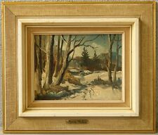 Henning Malberg *1900 » Winterlandschaft «