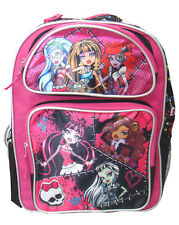 "Monster High Pink - 12"" inches Backpack - Licensed"