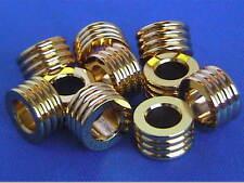 Woodturning Pen Kit Spares Cent Rings x10 STREAMLINE Gold/Chrome/GM/Black Chr