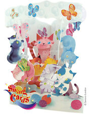 3D Swing Cards by Santoro - CATS PLAYING - SG-SC-114