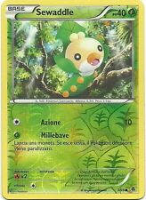 POKEMON - Sewaddle - 3/98 - Reverse Holo - N&B Nuove Forze - IT
