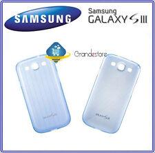 Custodia Cover ORIGINALE EFC-1G6SBECSTD SAMSUNG Galaxy S3 I9300 SIII nuovo