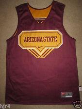 ASU Arizona State Sun Devils #23 Nike Basketball Jersey Womens L Large