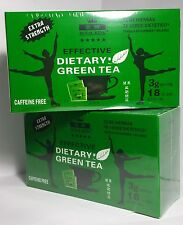 2 boxes Royal King Extra Strength Diet Green Tea