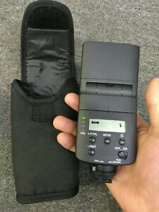 Sony HVL F32M Shoe Mount Flash for  Sony E cameras good condition