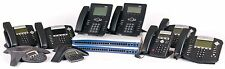 ADTRAN 7100 IP PBX VOIP 10 PHONE SOLUTION BUSINESS SYSTEM VOICEMAIL SIP POLYCOM