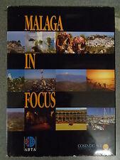 MALAGA IN FOCUS ed by JUAN DE DIOS MELLADO - ESTUDIOS GRAFICOS Y DE IMAGEN - D/W