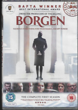 BORGEN COMPLETE FIRST SEASON SERIES ONE (1) GENUINE R2 DVD 3-DISC NEW/SEALED