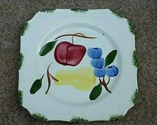 "Southern Potteries Blue Ridge Bountiful Square 6½"" Bread & Butter Plate"