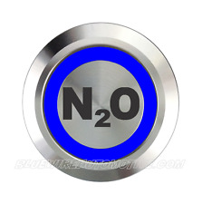 NITROUS OXIDE N2O BILLET BUTTON HOT ROD HOLDEN COMODORE CHEV FORD RACE DRAG CAR
