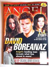 2003 Angel/Buffy Vampire Slayer Magazine #1-David Boreanaz Interview- FREE S&H