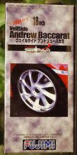 Jantes veilside Andrew BACCARAT 18 pouces incl. pneus, 1:24, Fujimi 193021