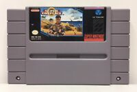 SNES Super Conflict Video Game Cartridge *Authentic/Cleaned/Tested*