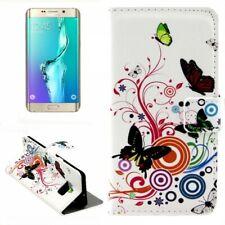 Wallet Deluxe Tasche Motiv 2 für Samsung Galaxy S6 Edge Plus G928 F Hülle Case