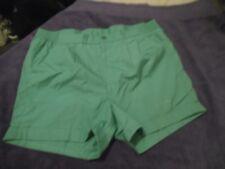 "K1 Mens Vtg TENNIS shorts Fancy dress party stag Retro 80s L 36"" green RUCANOR"