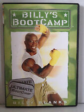 BILLY BLANKS ~ BILLY'S BOOT CAMP ~ ULTIMATE BOOTCAMP ~ AS NEW DVD