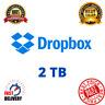 Dropbox Premium 2TB ✔️ Custom Account 👑 Lifetime Account ✔️ Fast Delivery