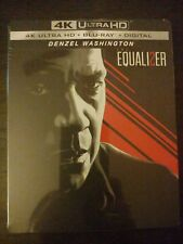 NEW! THE EQUALIZER 2 'STEELBOOK' (4K UHD + BLU-RAY + DIGITAL) Factory Sealed!