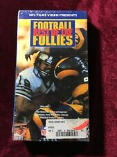The Best of the Football Follies (VHS) NFL FILMS BRAND NEW FACTORY SEALED